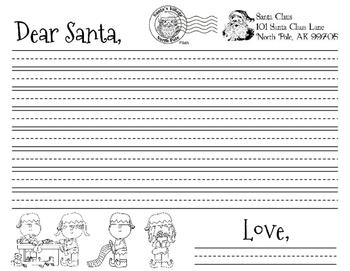 Letter To Santa Unit Plan