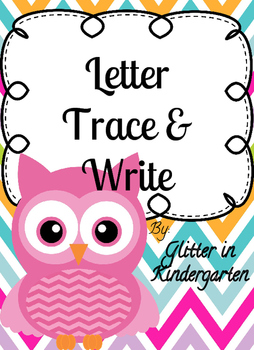 Letter Trace & Write