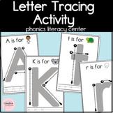 Letter Tracing Activity! Alphabet Literacy Center for Kindergarten