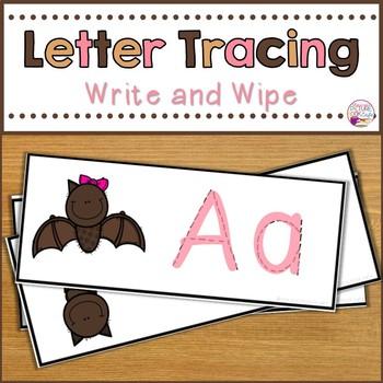 Letter Tracing-Bats