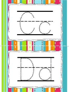 Letter Tracing Book