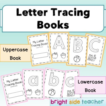 Letter Tracing Book and Alphabet Charts for Emergent Readers