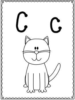 Practicing Letter Names Booklet