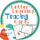 Letter Tracing Cards Kindergarten Pre-K Handwriting
