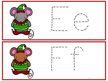Letter Tracing-Christmas