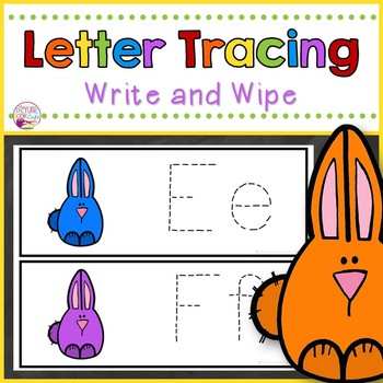 Letter Tracing-Colorful Peeps