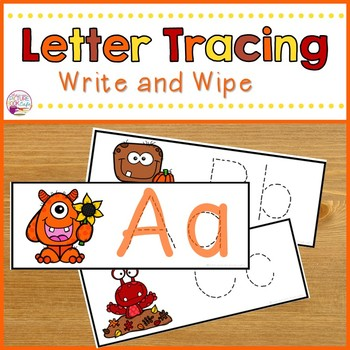 Letter Tracing-Fall Monsters