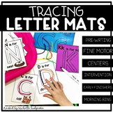 Letter Tracing Letter Mats | Trace Cards | Fine Motor |Pre