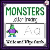 Letter Tracing-Monsters