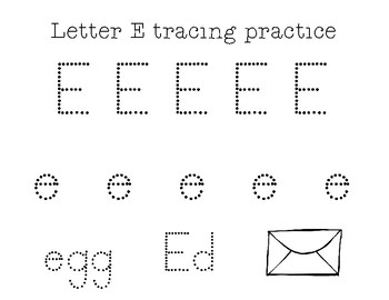 Letter Tracing Practice Sheets A-Z