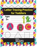 Letter Tracing Practice for Toddlers
