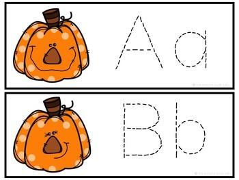 Letter Tracing-Pumpkins