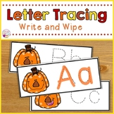 Letter Tracing-Pumpkins