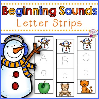 Letter Tracing-Snowman