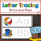 Letter Tracing Cards-Summer Themed