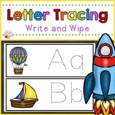 Letter Tracing Cards-Transportation