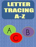 Letter Tracing Worksheet Upper Case Letters A-Z