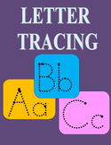 Letter Tracing Upper and Lower Letters Aa-Zz