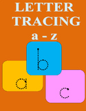 Letter Tracing Worksheet a-z Lower Case