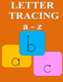 Letter Tracing Worksheet a-z Lower Case