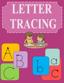 Letter Tracing Worksheets a-z and A-Z rainbow 54 pages
