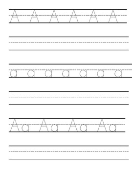 Letter Tracing And Writing Practice Worksheets By Homeschool Mama