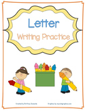 Letter Tracing and Writing Practice Worksheets