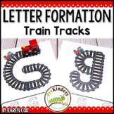 Letter Train Track Mats