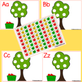 Letter Tree A-Z Upper and Lower Case Letters