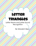 Letter Triangles: Letter Name and Letter Sound Recognition