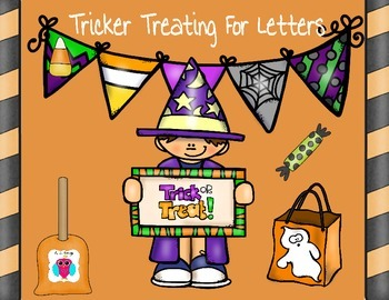 Letter Tricker Treating