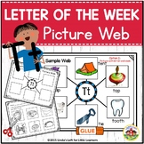 Letter Tt Letter of the Week Picture Web Activity