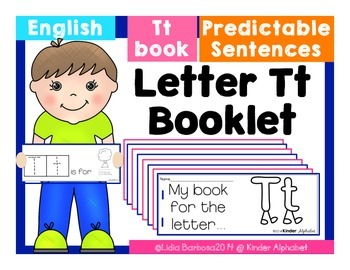 Letter Tt Booklet- Predictable Sentences