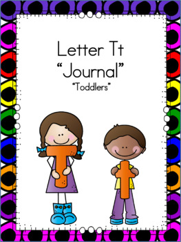 Letter Tt Journal for Toddlers