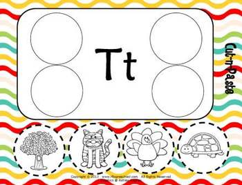 Letter Tt Language & Literacy Activity Center {COMMON CORE ALIGNED}