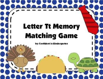 Letter Tt Memory Game