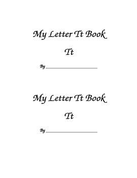 Letter Tt Printable Book