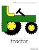 Letter Tt Tractor Craft