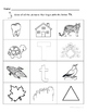 Letter Tt Words Coloring Sheet
