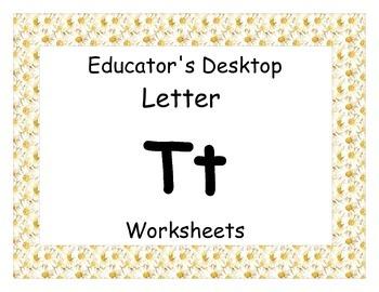 Letter Tt- Worksheets