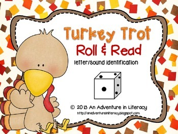 Letter Turkey Trot Roll & Read