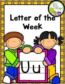 """Letter of the Week (Letter """"U"""")"""