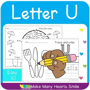 Easy 10: Letter U