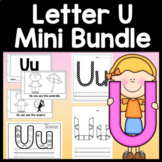 Letter U Activities {Letter U Book and 5 Letter U Worksheets!}