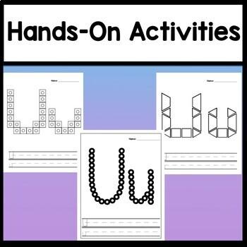 Letter U Activities {Letter U Book and 5 Letter U Worksheets!}