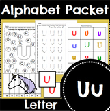 Letter U Activity and Center Packet