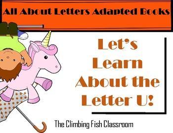 Letter 'U' Adapted Book