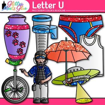 Letter U Alphabet Clip Art {Teach Phonics, Recognition, an