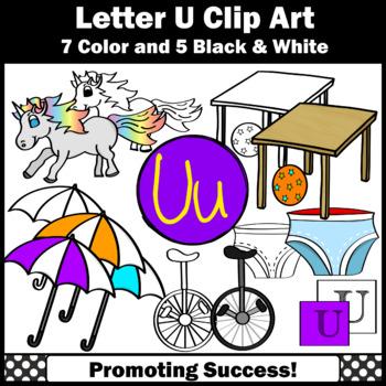 Letter U, Alphabet Letters Clip Art, Letter Sounds Clipart SPS