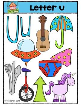 Letter U - Alphabet Pictures {P4 Clips Trioriginals Digita